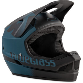 bluegrass Legit Casque, petrol blue/black/texture